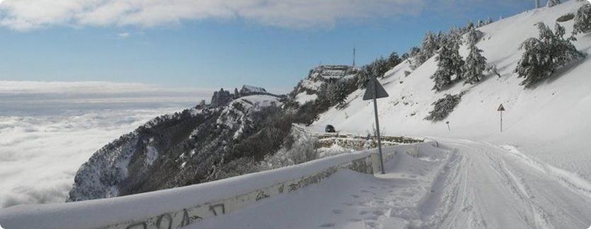 Отдых на Ай-Петри зимой: как добраться и чего ожидать